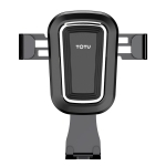 TOTUDESIGN DCTV-04 U Sheild Series Car Gravity Air Outlet Mount Bracket (Black)