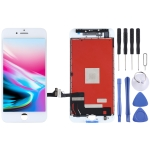 Original LCD Screen and Digitizer Full Assembly for iPhone 8 (White)