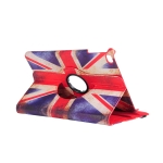 British Flag Pattern Horizontal Flip 360 Degrees Rotation Leather Case for iPad Mini 2019, with Holder & Sleep / Wake-up Function