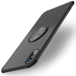 Shockproof TPU Protective Case for iPhone XS Max, with Holder (Black)