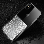 USAMS Yzon Series Leopard Texture TPU Case for iPhone XS Max