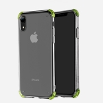 Hoco Ice Shield Series Four-corner Anti-collision Airbag Design TPU Case for iPhone XR (Transparent)