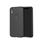 Hoco Mushang Series Non-slip Anti-fall TPU Case for iPhone XR(Black)
