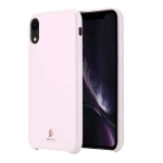 DUX DUCIS Skin Lite Series Ultra-thin Shockproof PU Case for iPhone XR (Pink)