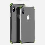 Hoco Ice Shield Series Four-corner Anti-collision Airbag Design TPU Case for iPhone X / XS (Transparent)
