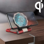 R-JUST RJ-13 Wireless Charger Metal Bracket (Red)