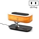 Tree Light Bluetooth Speaker Desk Lamp Phone Wireless Charger, US Plug