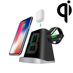 P8X QI Standard 3 in 1 Multifunctional Wireless Charger for Apple 8/X/XR/XS/XS MAX/8 Plus/QI Phone&iWatch&AirPods