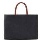 ST05 Universal Zipper Laptop Handbag for 13-15 inch Laptops(Black)