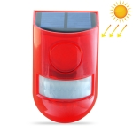 Solar Powered Sound-light Alarm Warning Light IP65 Waterproof 110 dB Burglar Alarm