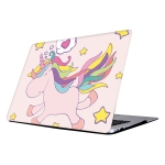 RS-287 Colorful Printing Laptop Plastic Protective Case for MacBook Air 11.6 inch A1465 (2012 – 2015) / A1370 (2010 – 2011)