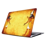 QT-2 Colorful Printing Laptop Plastic Protective Case for MacBook Air 13.3 inch A1466 (2012 – 2017) / A1369 (2010 – 2012)