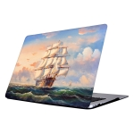 RS-542 Colorful Printing Laptop Plastic Protective Case for Macbook Retina 12 inch A1931 / A1534
