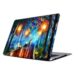 RS-704 Colorful Printing Laptop Plastic Protective Case for Macbook Retina 12 inch A1931 / A1534