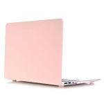 Cream Style Laptop Plastic Protective Case for MacBook Air 13.3 inch A1932 (2018) (Pink)