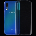 0.75mm Ultrathin Transparent TPU Soft Protective Case for Meizu 16S