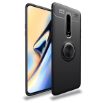 lenuo Shockproof TPU Case for OnePlus 7 Pro, with Invisible Holder (Black)