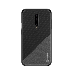 PINWUYO Honors Series Shockproof PC + TPU Protective Case for OnePlus 7 Pro (Black)