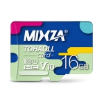 MIXZA 16GB High Speed Class10 Colorful TF(Micro SD) Memory Card