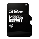 32GB High Speed Class10 Black TF(Micro SD) Memory Card