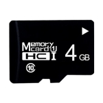 4GB High Speed Class10 Black TF(Micro SD) Memory Card