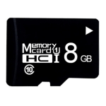 8GB High Speed Class10 Black TF(Micro SD) Memory Card