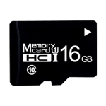 16GB High Speed Class10 Black TF(Micro SD) Memory Card