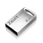 Zsuit 4GB USB 2.0 Mini Metal Ring Shape USB Flash Disk