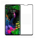 PINWUYO 9H 2.5D Full Screen Tempered Glass Film for LG G8 ThinQ(Black)
