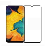 PINWUYO 9H 2.5D Full Screen Tempered Glass Film for Galaxy A40 (Black)