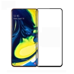 PINWUYO 9H 2.5D Full Screen Tempered Glass Film for Galaxy A90 (Black)