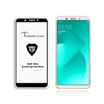 MIETUBL Full Screen Full Glue Anti-fingerprint Tempered Glass Film for OPPO A83 (Black)