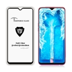 MIETUBL Full Screen Full Glue Anti-fingerprint Tempered Glass Film for OPPO F9 (Black)