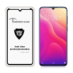 MIETUBL Full Screen Full Glue Anti-fingerprint Tempered Glass Film for Vivo V11i(Black)