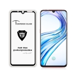 MIETUBL Full Screen Full Glue Anti-fingerprint Tempered Glass Film for Vivo X23 (Black)
