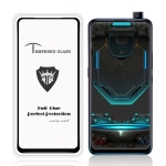 MIETUBL Full Screen Full Glue Anti-fingerprint Tempered Glass Film for Vivo S1 (Black)