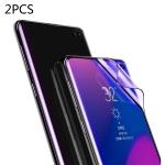 2 PCS Baseus 0.15mm Full Screen Curved Edge Anti Blue-ray Anti-explosion Soft Film for Galaxy S10 Plus