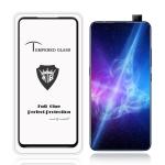 MIETUBL Full Screen Full Glue Anti-fingerprint Tempered Glass Film for Vivo V15 Pro (Black)