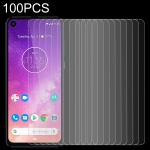 100 PCS 0.26mm 9H 2.5D Tempered Glass Film for Motorola One Vision