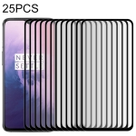 25 PCS 9H Full Screen Curved Edge Tempered Glass Film for OnePlus 7