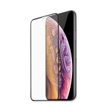 Hoco Ultra-smooth Full-screen Frosted Tempered Film for iPhone X / XS (Black)