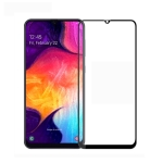 MOFI 9H 3D Explosion-proof Curved Screen Tempered Glass Film for Galaxy A50 (Black)