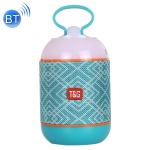 T&G TG605 Portable Stereo Wireless Bluetooth V5.0 Speaker, Built-in Mic, Support Hands-free Calls & TF Card & U Disk & AUX Audio & FM(Blue)