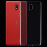 0.75mm Ultrathin Transparent TPU Soft Protective Case for Nokia 1 Plus