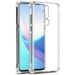 IMAK All-inclusive Shockproof Airbag TPU Case for Nokia X71, with Screen Protector (Transparent)