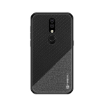 PINWUYO Honors Series Shockproof PC + TPU Protective Case for Nokia 4.2 (Black)