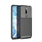 Carbon Fiber Texture Shockproof TPU Case for Nokia 6.2 / X71 (Black)