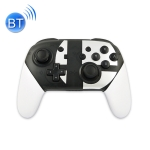 Wireless Game Pro Controller With Screenshot Vibration Function for N-Switch(White)