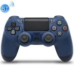 Wireless Bluetooth Game Handle Controller with Lamp for PS4(Dark Blue)