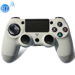 Wireless Bluetooth Game Handle Controller with Lamp for PS4 (White)